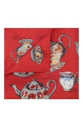 Мужской шелковый платок ETON красного цвета, арт. A000 32106 | Фото 1