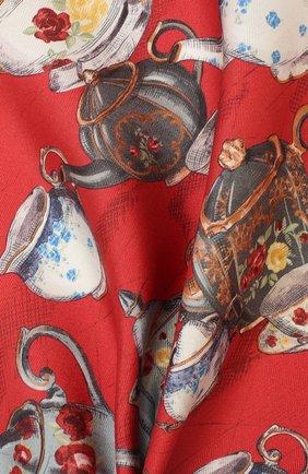 Мужской шелковый платок ETON красного цвета, арт. A000 32106 | Фото 2