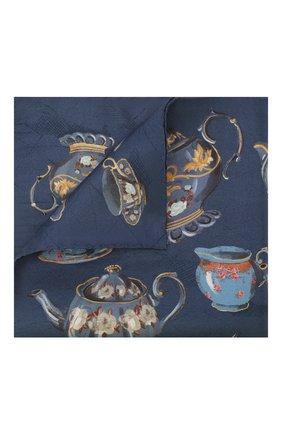 Мужской шелковый платок ETON синего цвета, арт. A000 32106 | Фото 1