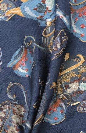 Мужской шелковый платок ETON синего цвета, арт. A000 32106 | Фото 2