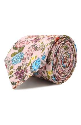 Мужской шерстяной галстук ETON розового цвета, арт. A000 32083 | Фото 1