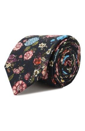 Мужской шерстяной галстук ETON темно-синего цвета, арт. A000 32083 | Фото 1