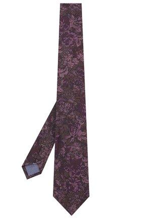 Мужской галстук из смеси шерсти и шелка ETON фиолетового цвета, арт. A000 32080 | Фото 2