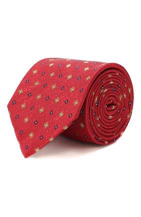 Мужской шелковый галстук ETON красного цвета, арт. A000 32075 | Фото 1