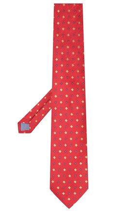 Мужской шелковый галстук ETON красного цвета, арт. A000 32075 | Фото 2