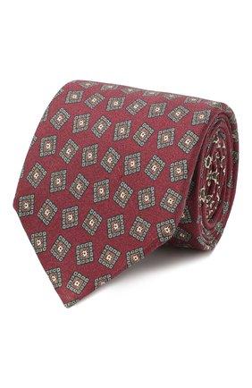 Мужской шелковый галстук ETON бордового цвета, арт. A000 32066 | Фото 1