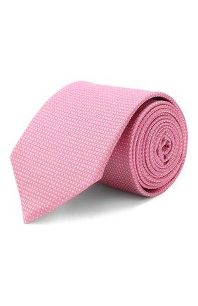 Мужской шелковый галстук ETON розового цвета, арт. A000 32022 | Фото 1
