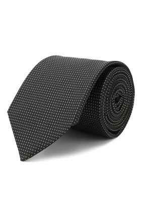 Мужской шелковый галстук ETON черного цвета, арт. A000 32022 | Фото 1