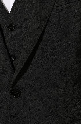 Мужской смокинг-тройка DOLCE & GABBANA черного цвета, арт. GK3XMT/FJRD1 | Фото 2