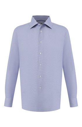 Мужская хлопковая сорочка CANALI синего цвета, арт. N705/GR01839/S | Фото 1