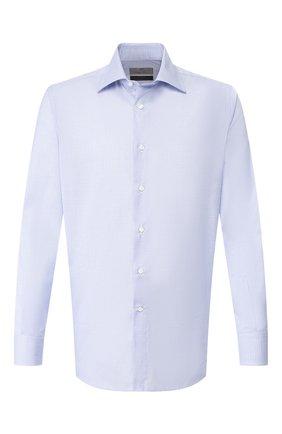 Мужская хлопковая сорочка CANALI голубого цвета, арт. 7705/GF00985 | Фото 1