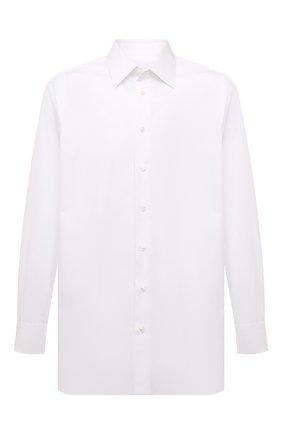 Мужская хлопковая сорочка BRIONI белого цвета, арт. RCL8ID/PZ016 | Фото 1