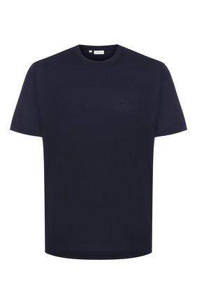 Мужская хлопковая футболка BRIONI темно-синего цвета, арт. UJCA0L/PZ600 | Фото 1
