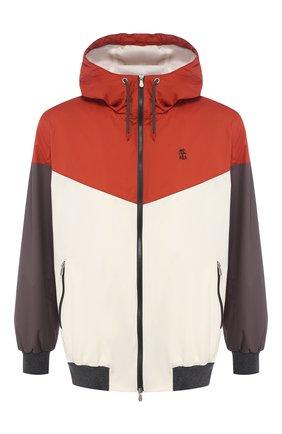 Мужской куртка BRUNELLO CUCINELLI разноцветного цвета, арт. MM45A7319G | Фото 1