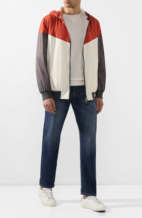Мужской куртка BRUNELLO CUCINELLI разноцветного цвета, арт. MM45A7319G | Фото 2
