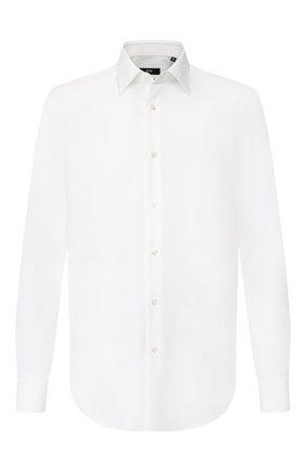 Мужская хлопковая сорочка BOSS белого цвета, арт. 50422174 | Фото 1