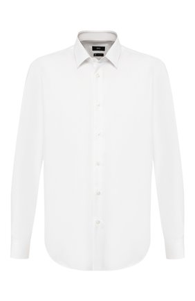 Мужская хлопковая сорочка BOSS белого цвета, арт. 50422139 | Фото 1
