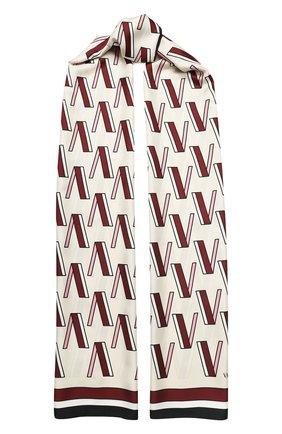 Шелковая шаль Valentino Garavani | Фото №1