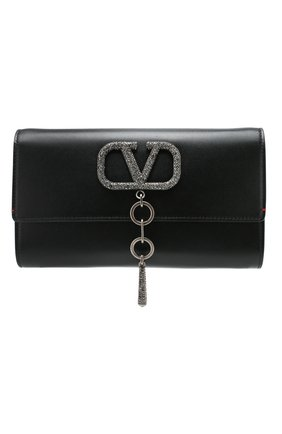 Женский клатч valentino garavani vcase  VALENTINO черного цвета, арт. TW2B0G00/JCM | Фото 1