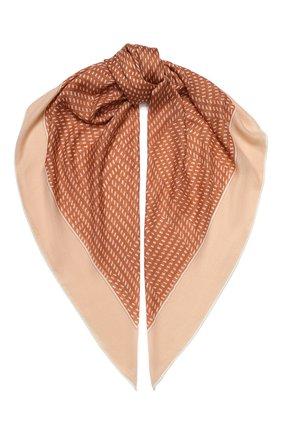 Женский платок rhythmic из смеси кашемира и шелка LORO PIANA бежевого цвета, арт. FAI9817 | Фото 1