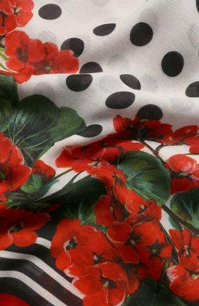 Мужские шарф DOLCE & GABBANA красного цвета, арт. FS184A/GDN27 | Фото 2