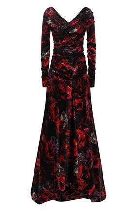 Женское шелковое платье DOLCE & GABBANA бордового цвета, арт. F6G5AT/GVD40 | Фото 1