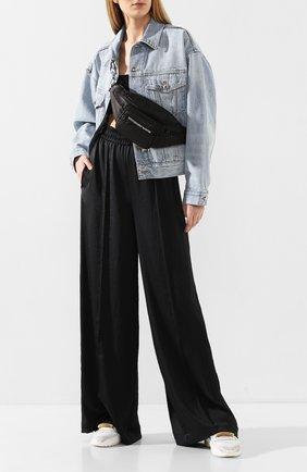 Женские брюки ALEXANDERWANG.T черного цвета, арт. 4WC1204012 | Фото 2