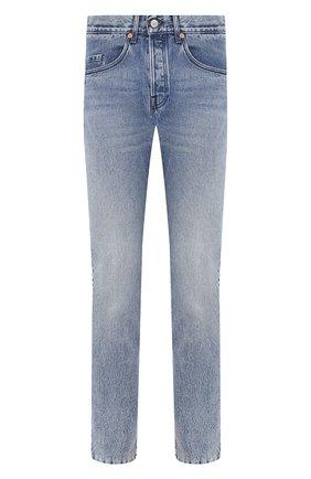 Мужские джинсы GUCCI синего цвета, арт. 600156/XDAX5 | Фото 1