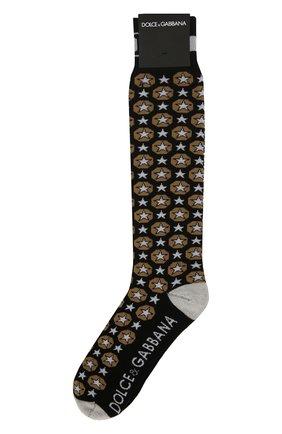 Мужские носки DOLCE & GABBANA разноцветного цвета, арт. GX812T/JACEY | Фото 1