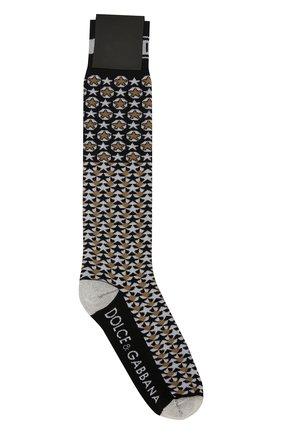Мужские носки DOLCE & GABBANA разноцветного цвета, арт. GX812T/JACEY | Фото 2
