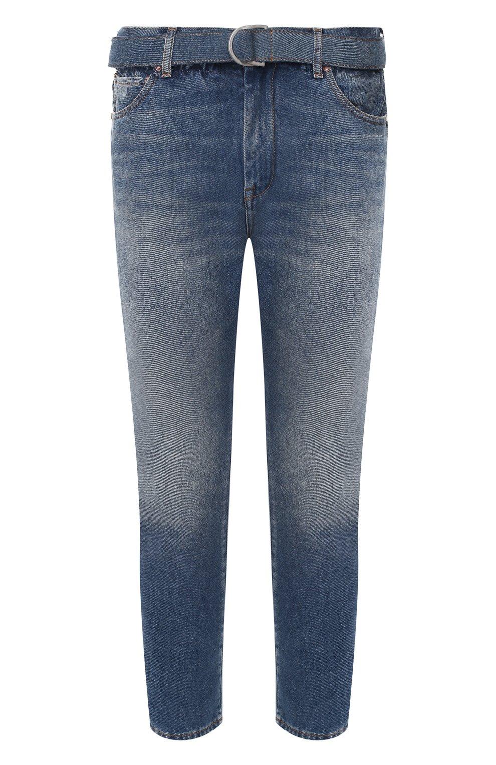 Мужские синие джинсы OFF-WHITE — купить за 41050 руб. в интернет-магазине ЦУМ, арт. 0MYA005R20G660278701