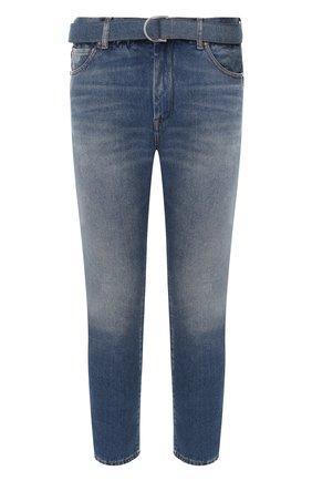 Мужские джинсы OFF-WHITE синего цвета, арт. 0MYA005R20G660278701 | Фото 1