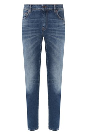Мужские джинсы OFF-WHITE синего цвета, арт. 0MYA058R20G940278701 | Фото 1