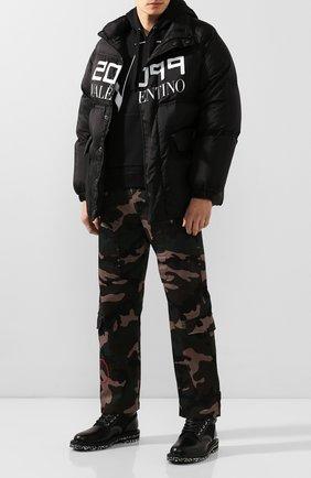 Мужские комбинированные ботинки odin JIMMY CHOO черного цвета, арт. 0DIN/UUY | Фото 2
