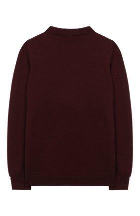 Детский кашемировый пуловер LORO PIANA красного цвета, арт. FAI8426 | Фото 2