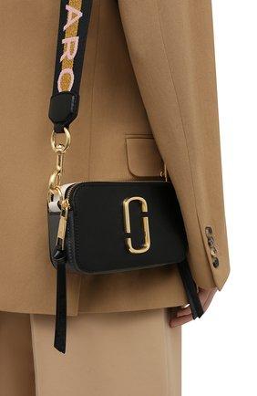 Женская сумка snapshot small MARC JACOBS (THE) черного цвета, арт. M0014146   Фото 2