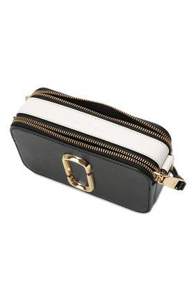 Женская сумка snapshot small MARC JACOBS (THE) черного цвета, арт. M0014146   Фото 5