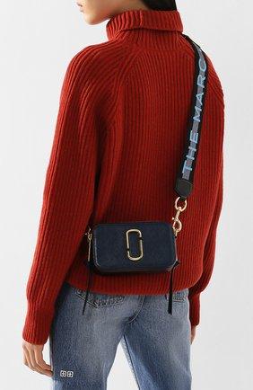 Женская сумка snapshot small MARC JACOBS (THE) синего цвета, арт. M0014146 | Фото 2