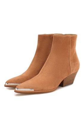 Замшевые ботинки Carla | Фото №1