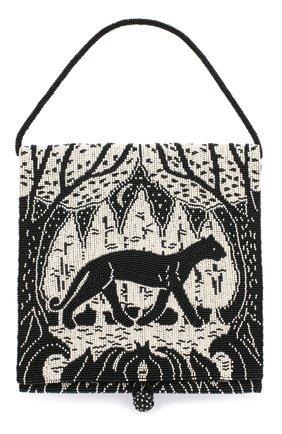 Женский сумка THE ROW черно-белого цвета, арт. W1229W785 | Фото 1