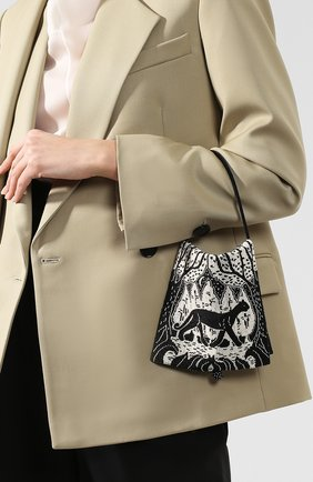 Женский сумка THE ROW черно-белого цвета, арт. W1229W785 | Фото 2