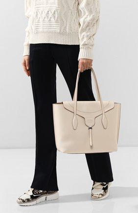Женская сумка joy TOD'S белого цвета, арт. XBWANXA8300N95   Фото 2