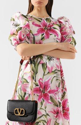 Женская сумка valentino garavani vlock small VALENTINO черного цвета, арт. TW2B0F23/PAM | Фото 2
