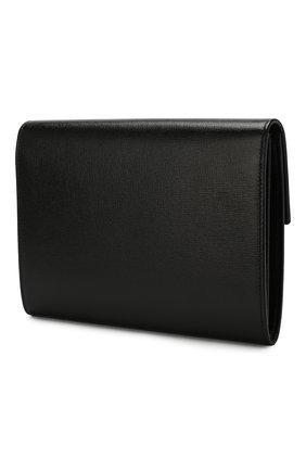 Женские кожаный футляр для документов GUCCI черного цвета, арт. 598546/1DB0X | Фото 2