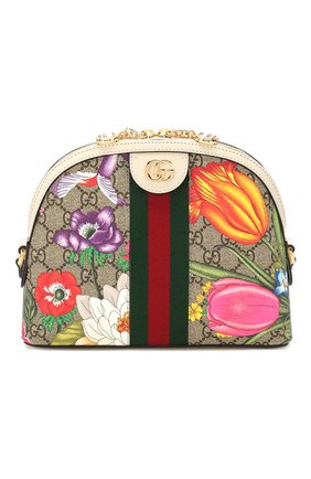 Женская сумка ophidia small GUCCI разноцветного цвета, арт. 499621/HV8AC | Фото 1