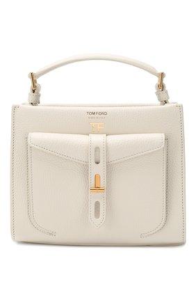 Женская сумка t twist small TOM FORD белого цвета, арт. L1259T-LCL008   Фото 1