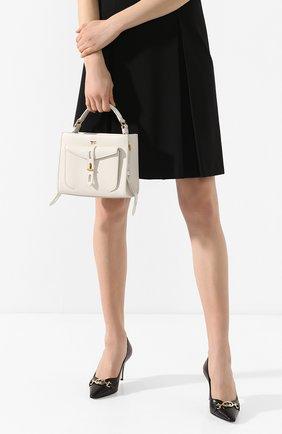 Женская сумка t twist small TOM FORD белого цвета, арт. L1259T-LCL008   Фото 2