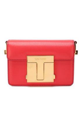 Женская сумка TOM FORD красного цвета, арт. L1261T-LG0009   Фото 1