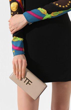 Женская сумка box mini TOM FORD бежевого цвета, арт. S0342T-LCL056   Фото 2