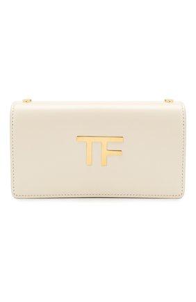 Женская сумка box mini TOM FORD белого цвета, арт. S0342T-LCL056   Фото 1